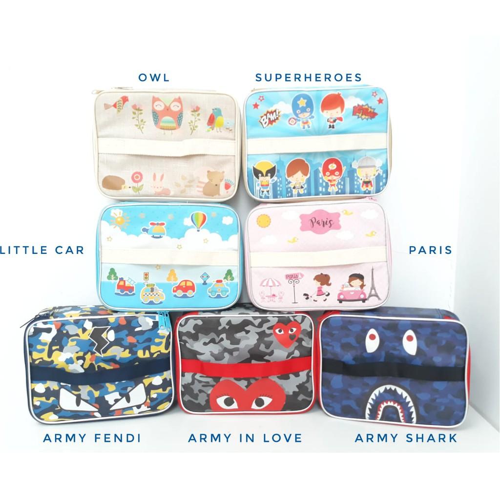 Set Lunch Box Kotak Makan Bento Yooyee Dan Bag Tempat Bekal Rantang Stainless Kartun Cartoon Hello Kitty Doraemon Single Printing Shopee Indonesia