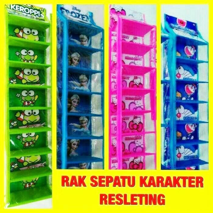 RAK SEPATU / SHOE RACK COVER TRANSPARAN (9 SUSUN) / RAK SERBAGUNA (PROMO MERDEKA) | Shopee Indonesia