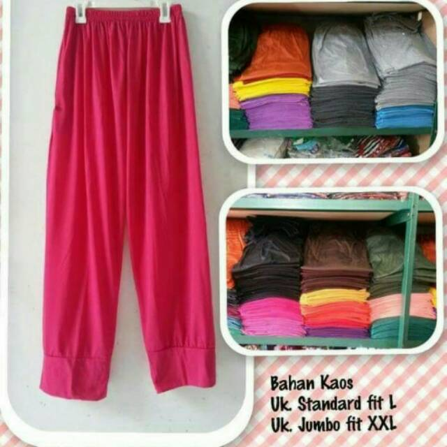 Celana legging, inner pant, dalaman gamis, celamis standar dan jumbo,celamis aladin,celamis | Shopee Indonesia