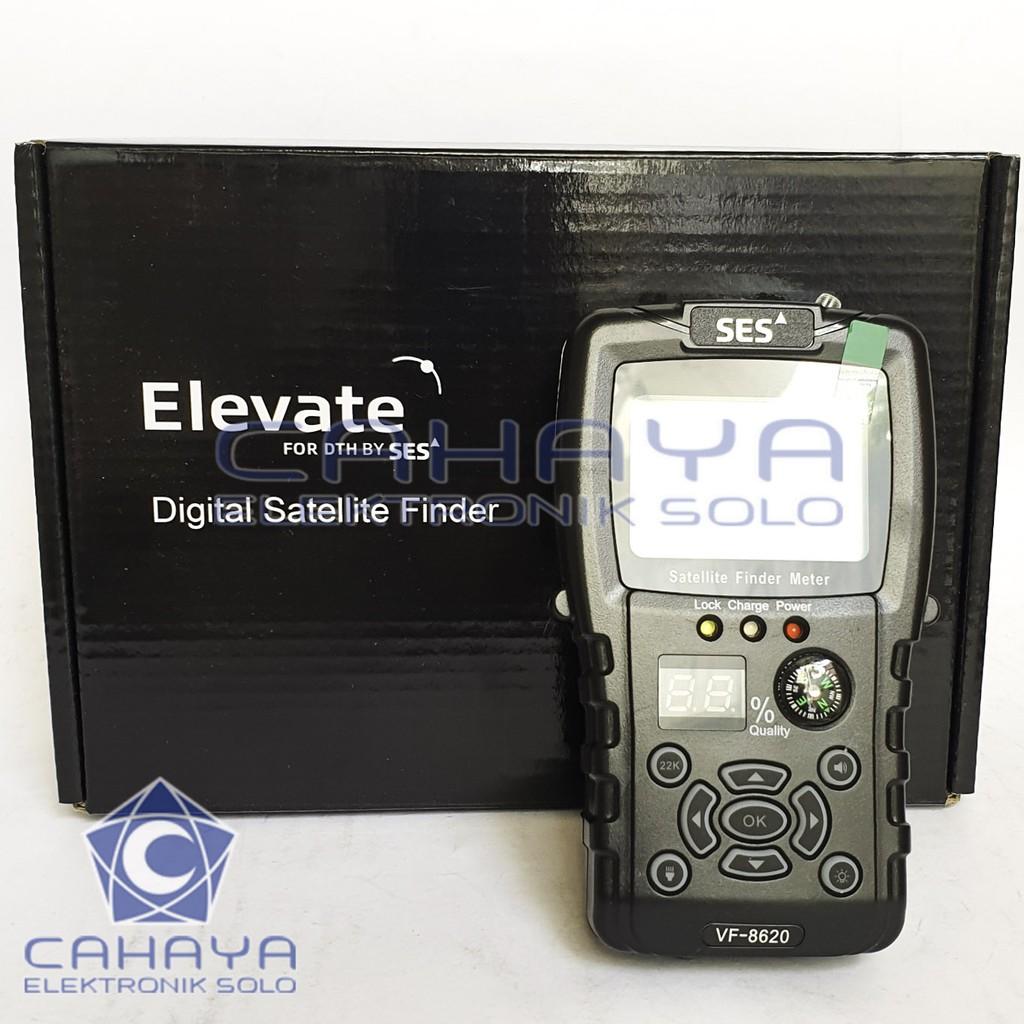 SatFinder SES Elevate Satelit Finder Tracking Parabola C KU Matrix LNB