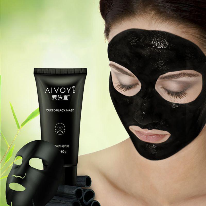 Masker Wajah Arang Bambu Masker Lumpur Membersihkan Menyeluruh Menghilangkan Komedo Jerawat   Shopee Indonesia