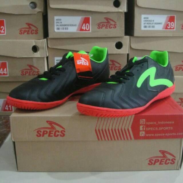 Sepatu futsal specs valor in 400554 Black  02d4ec413928e