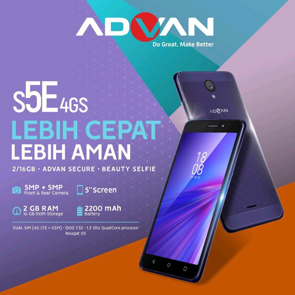 Advan I5c Plus 4g Lte Ram 2gb 16gb Garansi Resmi Shopee Indonesia