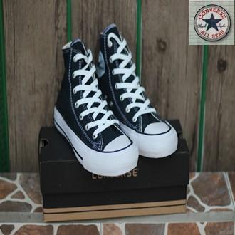 59b85500289c ... Sepatu Casual Harian Sekolah Kuliah Converse Allstar CT Mono Full White  Putih Low Pria Wanita Couple ...