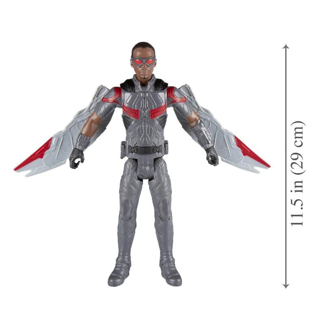 MARVEL/'S FALCON Marvel Avengers Infinity War Titan Hero Series 12-Inch Power FX
