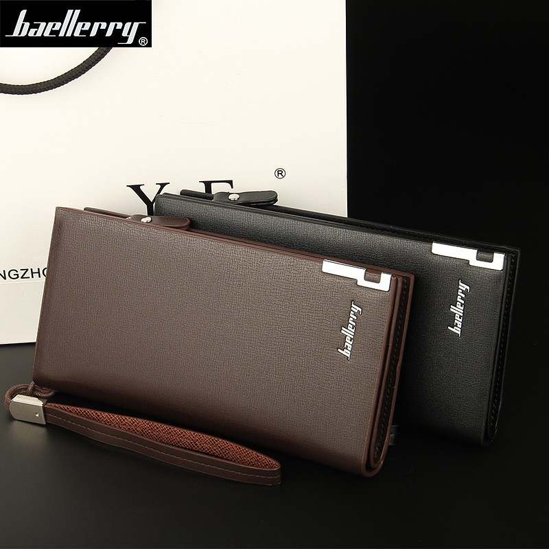 SW002- Dompet PRIA BAELLERRY & Dompet PRIA FYGALERY Dompet Pria panjang Bonus Kotak | Shopee Indonesia