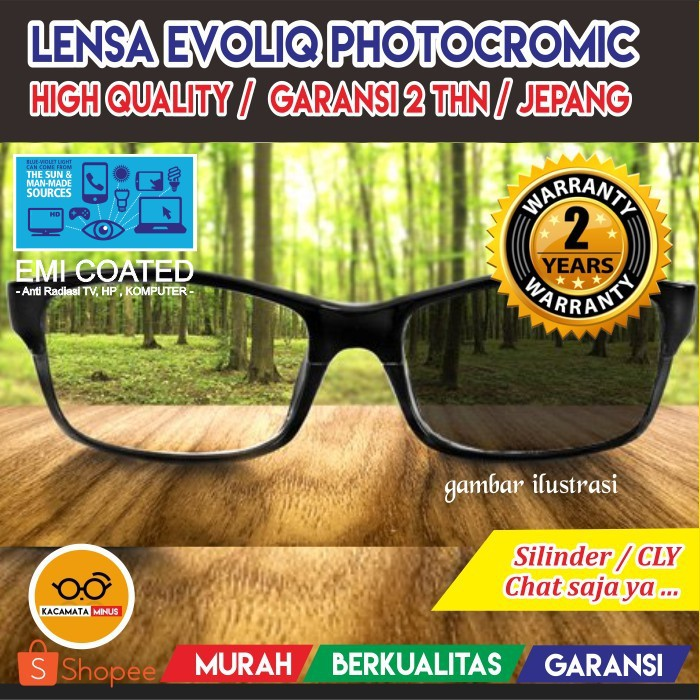 LENSA KACAMATA MINUS ~ LENSA ESSILOR ANTI GORES   HIGH QUALITY ... be991b660b
