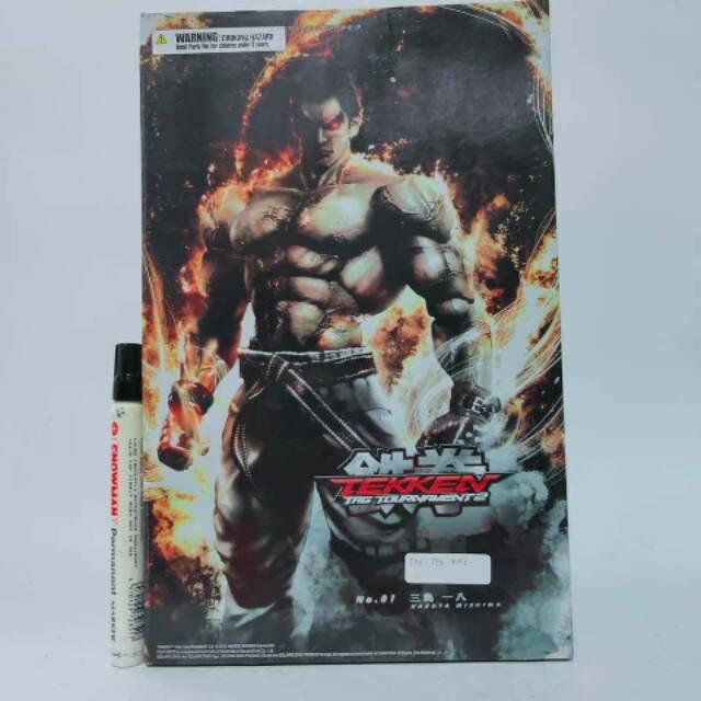 Mainan Action Figure Pak Kazuya Minisma Tekken Tag Tournament 2 Recast Playarts Kai Tinggi Sekitar Shopee Indonesia