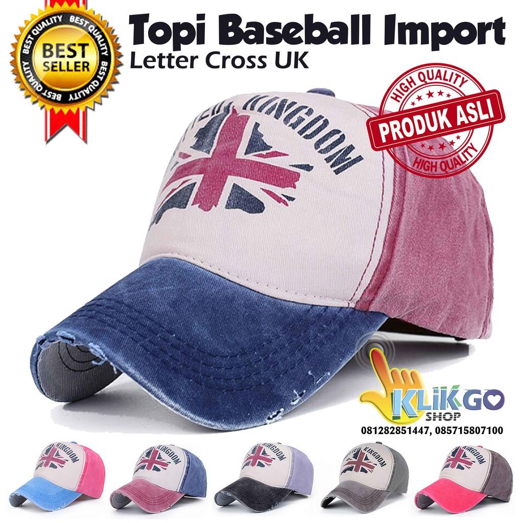 TOPI BASEBALL IMPORT LETTER CROSS UK   BASEBALL CAPS   TOPI DISTRO    SNAPBACK  94becebaf6