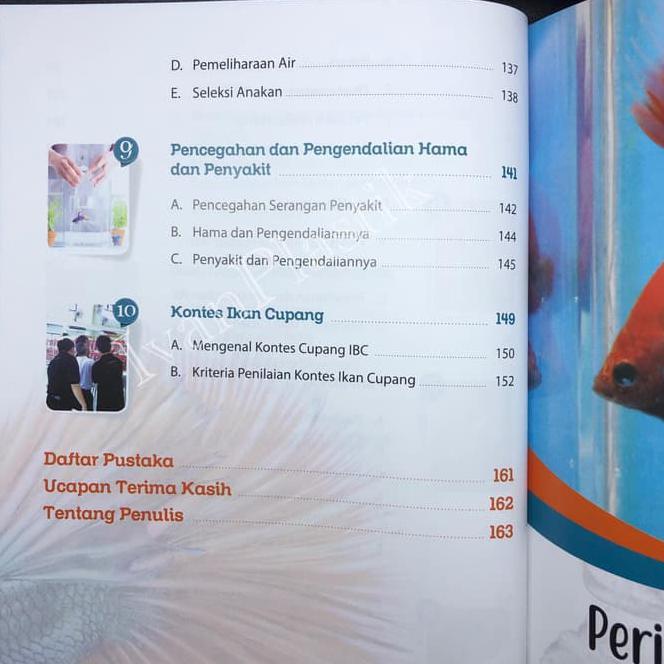 Buku Mengenai Ikan Cupang Hias Budi Daya Bisnis Dan Kontes Shopee Indonesia