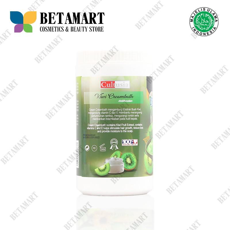 Cultusia Creambath Kiwi 1000ml Shopee Indonesia