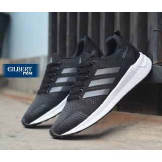 HOT SALE - Sepatu Pria Olahraga Sneakers Running Sport Adidas Cloudfoam Import