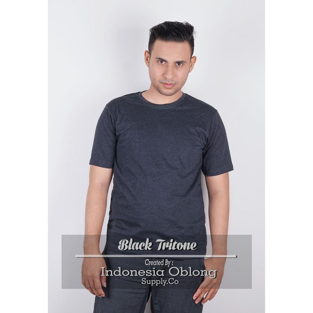 Kaos Polos Long Sleeves Maroon Tritone Shopee Indonesia Triton