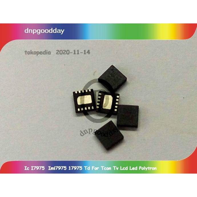 Ic I7975 Iml7975 17975 Td For Tcon Tv Lcd Led Polytron Dnpgood11 Segera Beli