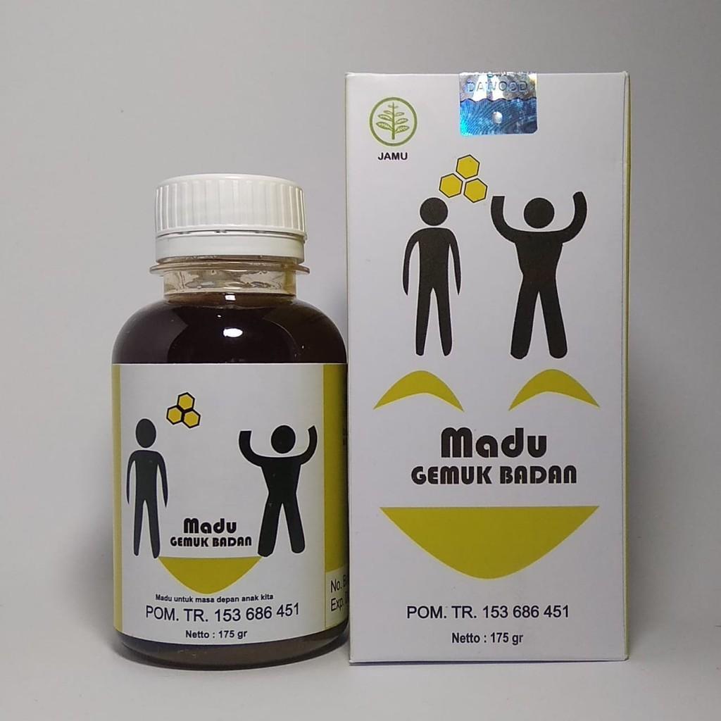 Madu Gemuk Badan Penggemuk Anak I Al Mabruroh Shopee Indonesia Original