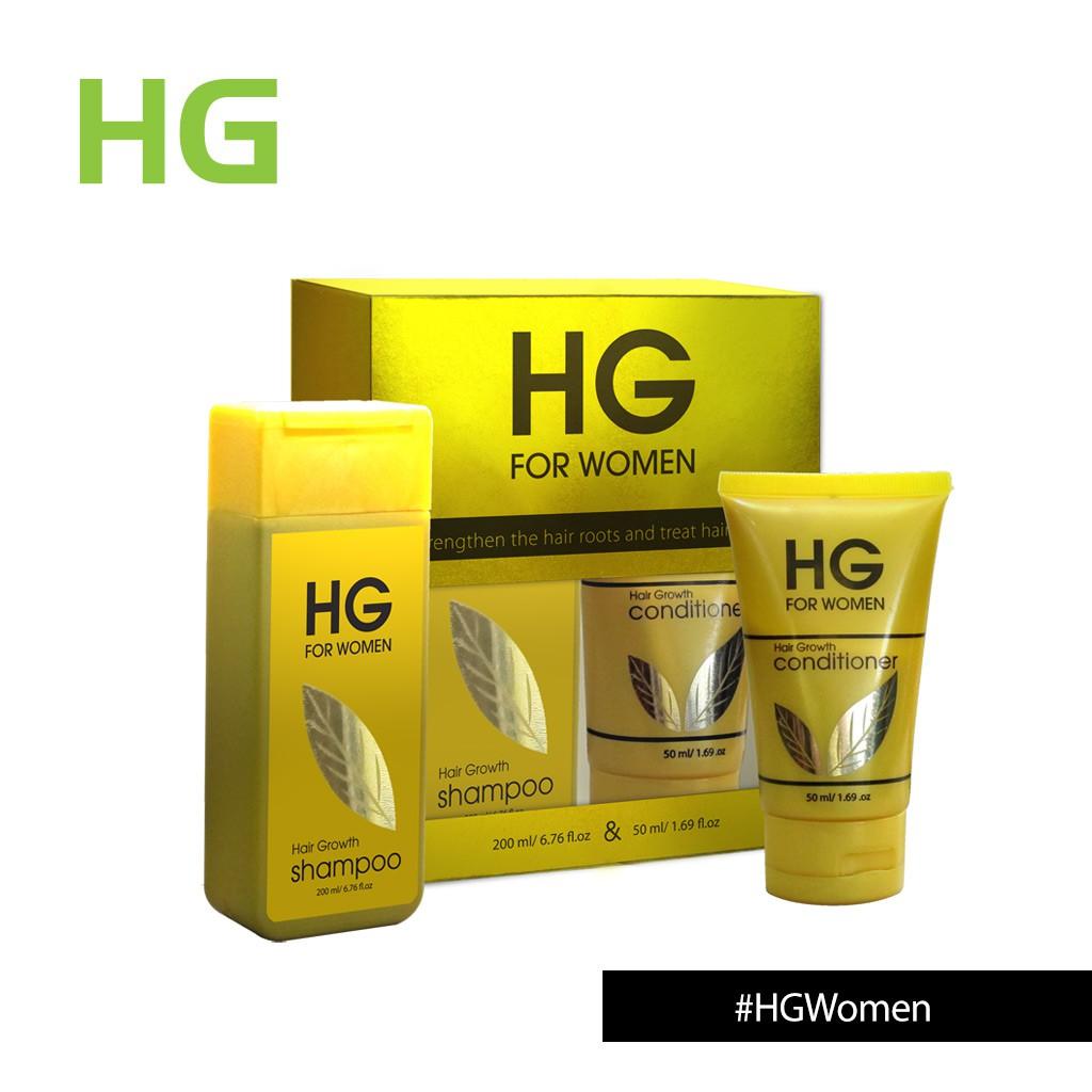 Hg 2 In 1 Shampoo 200 Ml Conditioner 50 For Women Shopee La Rose Rouge Paket Set Dan 180ml Indonesia