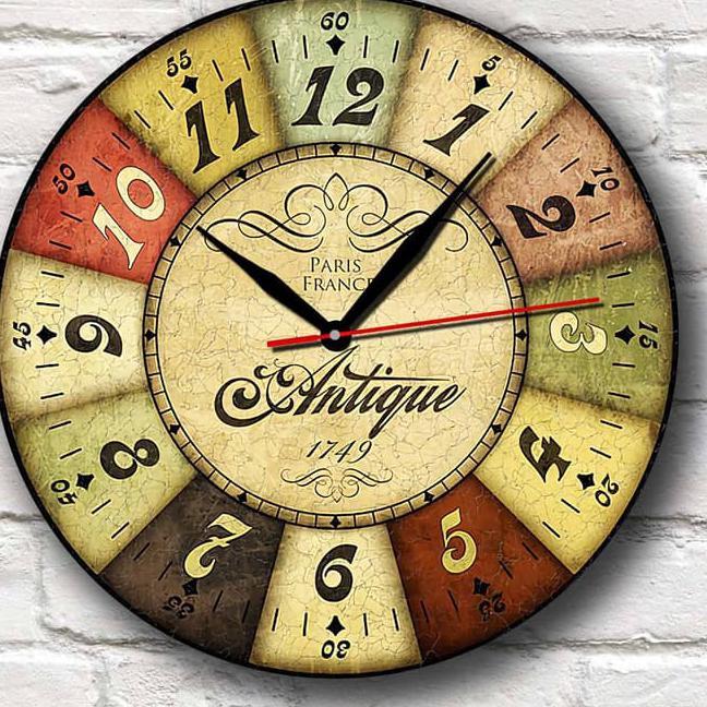 Terlaku.! Jam Dinding Unik Artistik - France Wall Clock  964783d226