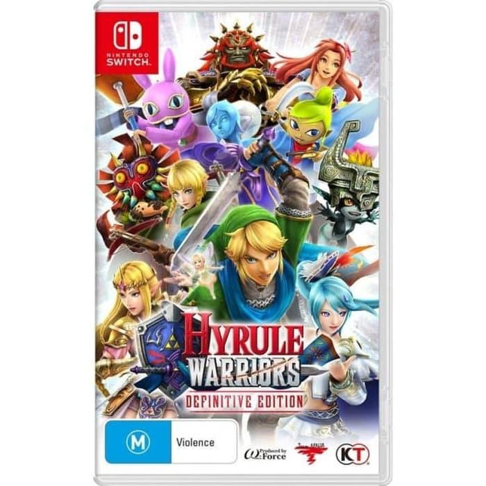 Nintendo Switch Hyrule Warriors Definitive Edition Shopee Indonesia