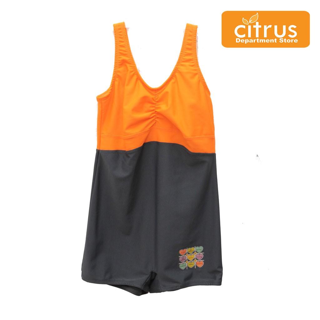 Silver Sportwear 112.261.000 Baju Renang Anak Perempuan Warna Orange