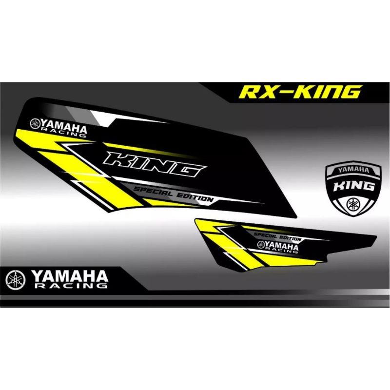 Striping Rx King variasi List Kuning