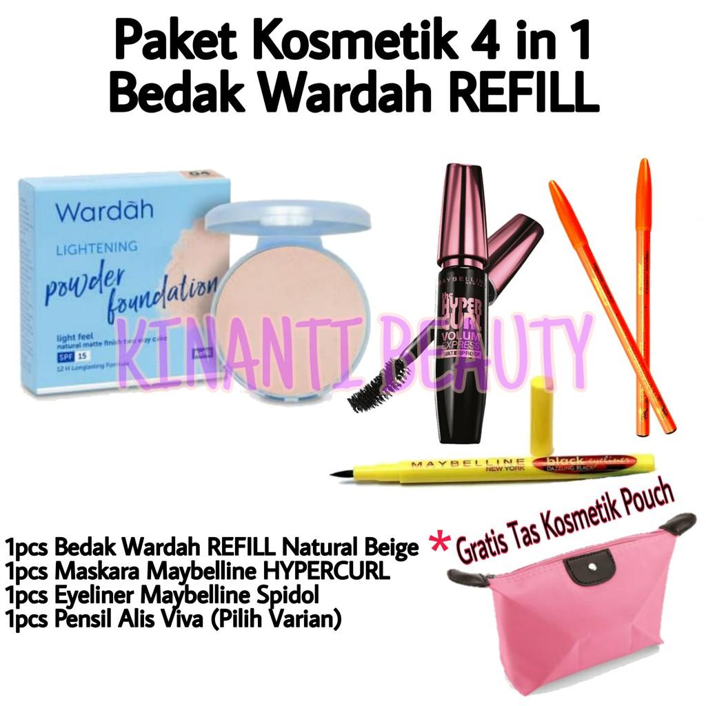 Paket Kosmetik Wardah Lengkap Murah 4 in 1 - Pake Make Up Wardah Lengkap Murah 5 in 1