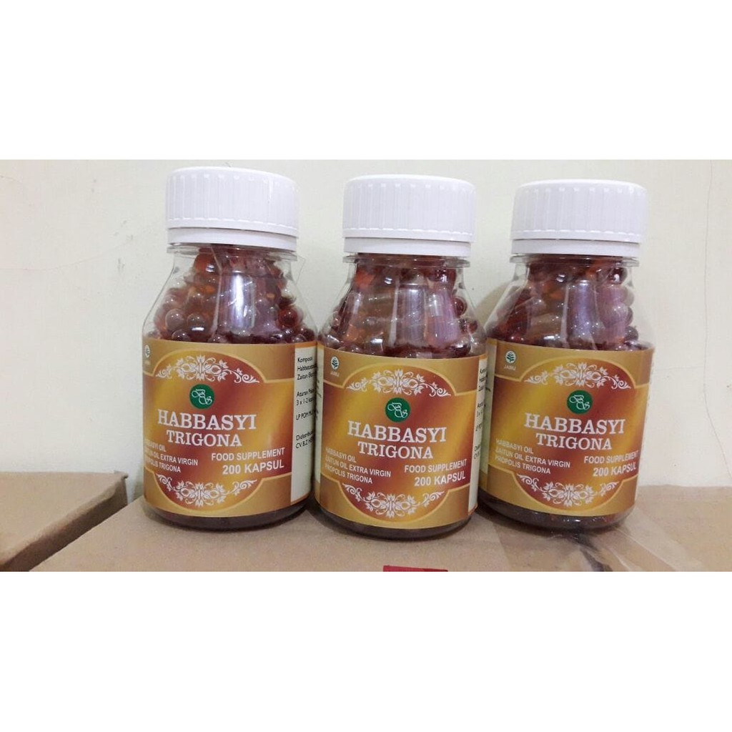 Habbasyifa Kapsul Oil Habbatussauda 200 Shopee Indonesia Minyak Nigellive Isi
