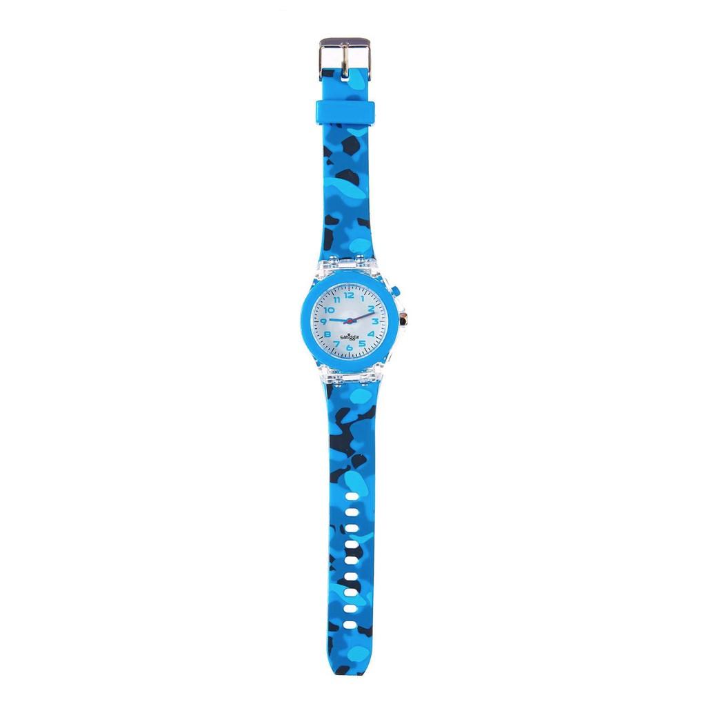 Smiggle Light Time Watch Jam Tangan Teiwe Moeslim Tw15001 Pria Silver