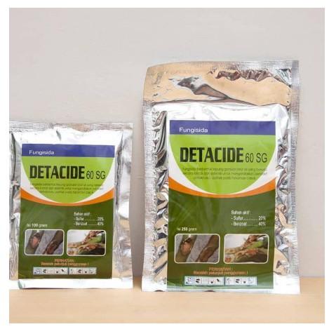 Fungisida DETACIDE 60SG 250 gram