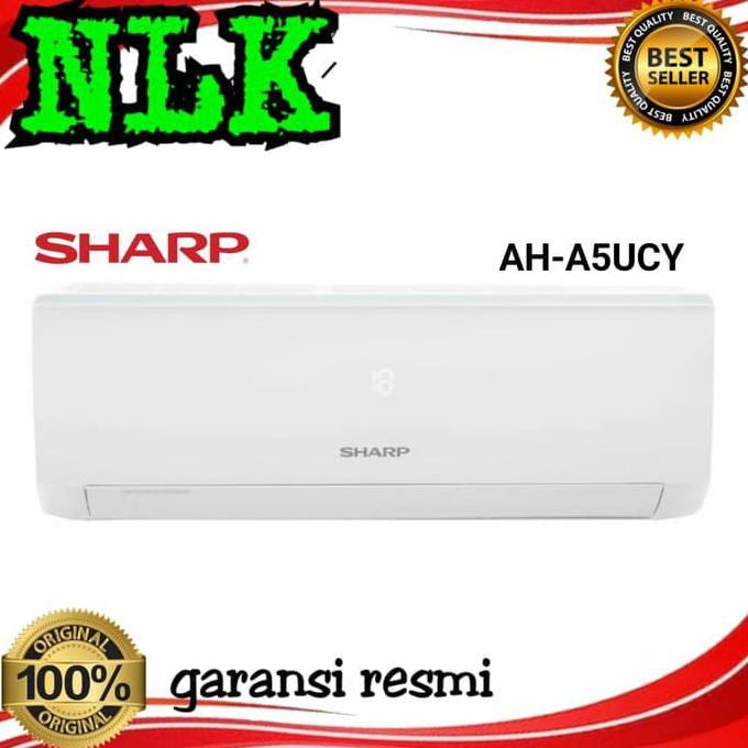 AC SHARP AH-A5UCY 1/2 PK TURBO COOL SERIES R32 0.5PK GARANSI 10 TAHUN