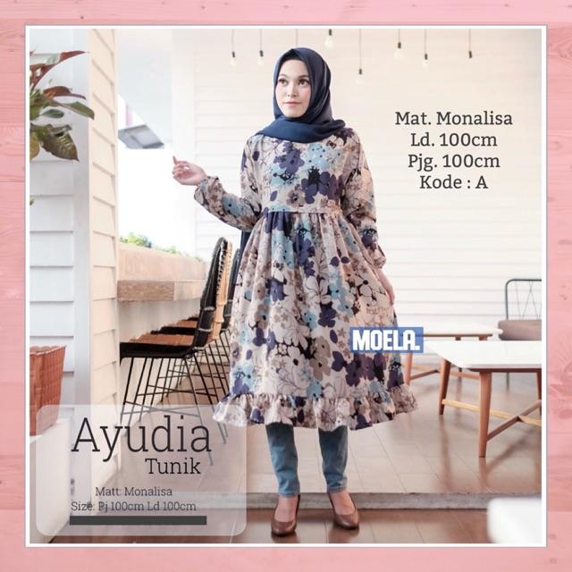 Fashion Baju Atasan Wanita Lengan Panjang Baju Muslim Wanita Baju Ibu  Menyusui 4 Warna  484f61415c
