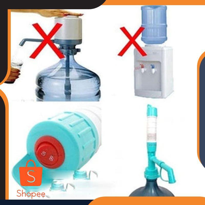 Grosir Pompa Galon Air Minum Elektrik Baterai Water Dispenser Electric Pump Keren Fourtuna Shopee Indonesia