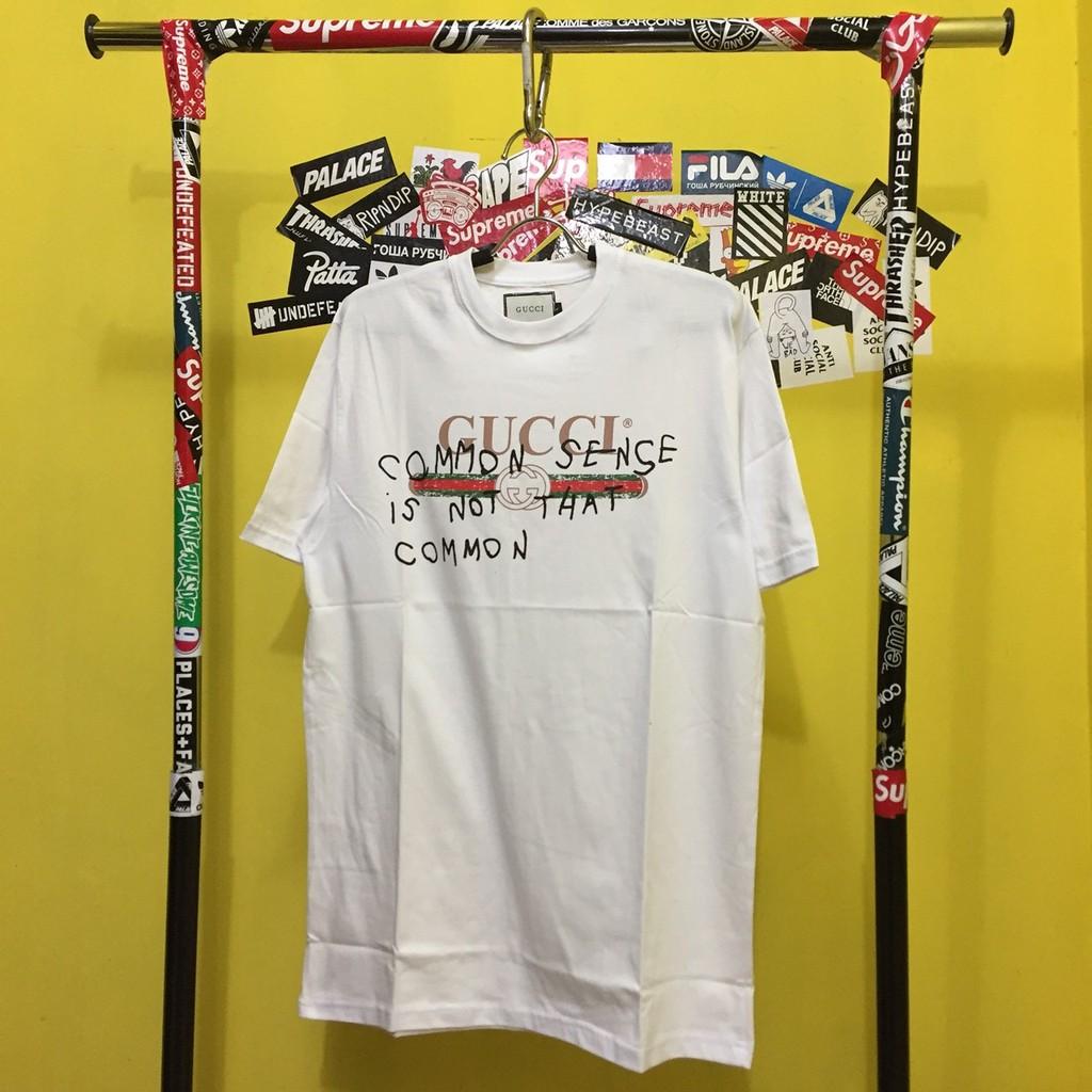 f5fb1398 Tshirt Gucci common   Shopee Indonesia