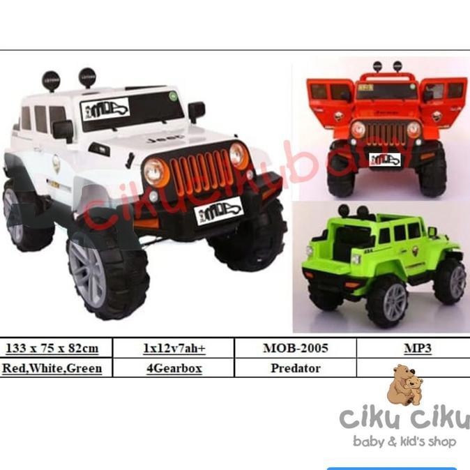 Mainan anak mobil aki PREDATOR / mobil aki / mainan anak