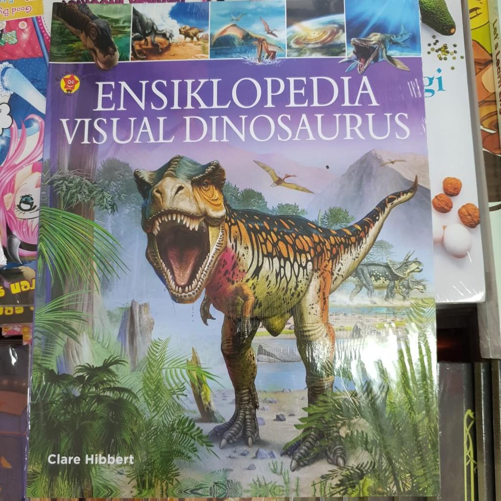 BUKU ORIGINAL ENSIKLOPEDIA VISUAL DINOSAURUS | Shopee Indonesia