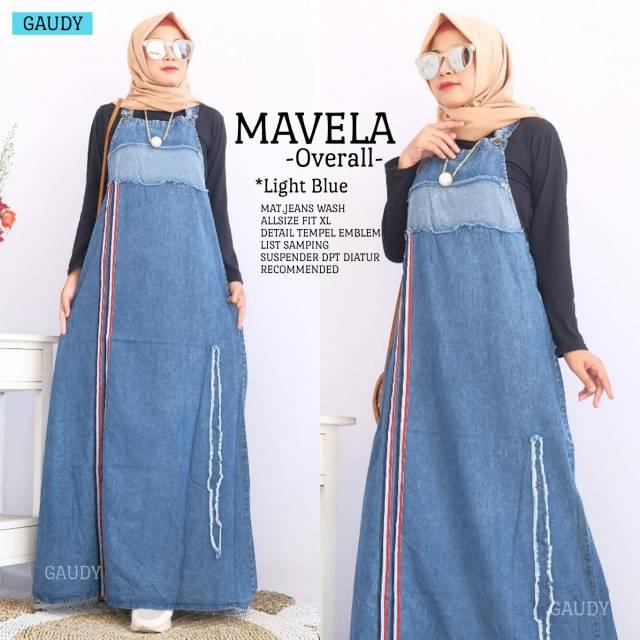 Mavela overall jeans gaudy