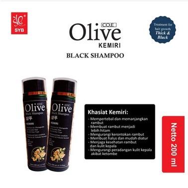 SYB CO.E Olive Hair Treatment - Shampoo Conditioner Tonic Black Kemiri Oil Mask Serum Kids-3