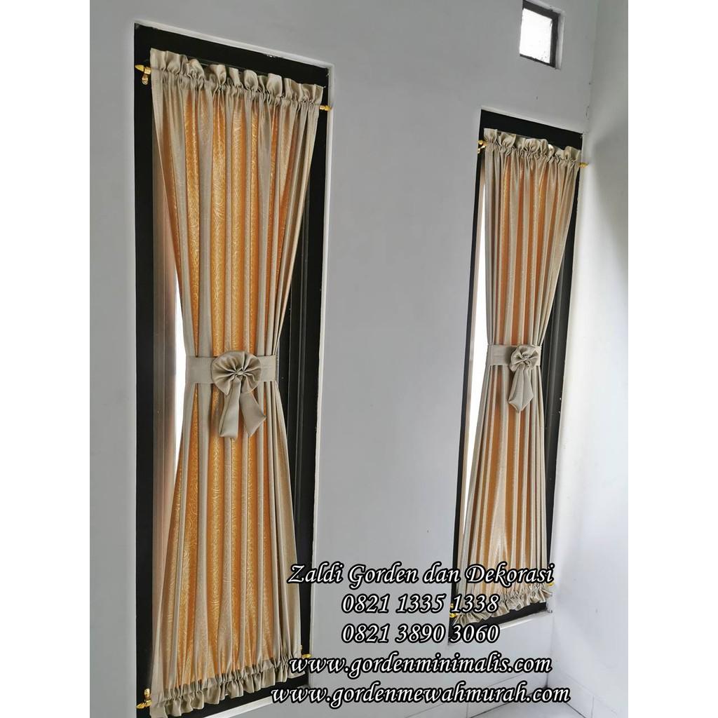 Gorden Jendela Kecil Gorden Pita Gorden Kupu Shopee Indonesia Model gorden jendela kecil minimalis