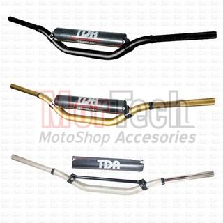 TDR Stir KLX Fatbar + Busa Stang Setang Baplang Twinwall Lebar Hitam Gold Brown