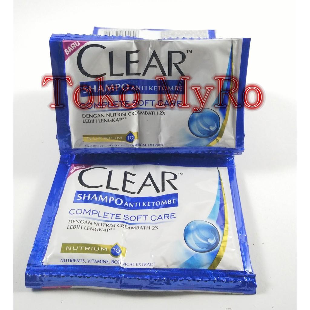 Clear Shampo Anti Ketombe Ice Cool Menthol Sampo Hijau Saset Shampoo 340 Ml Tiwin Pack Shopee Indonesia