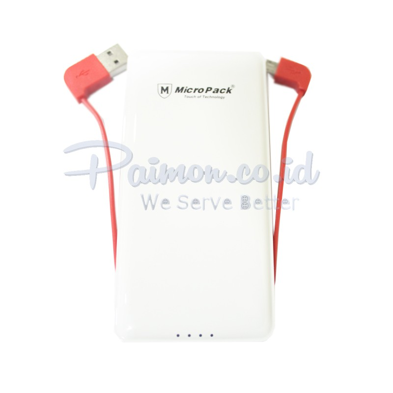 Micropack Powerbank P6000P white