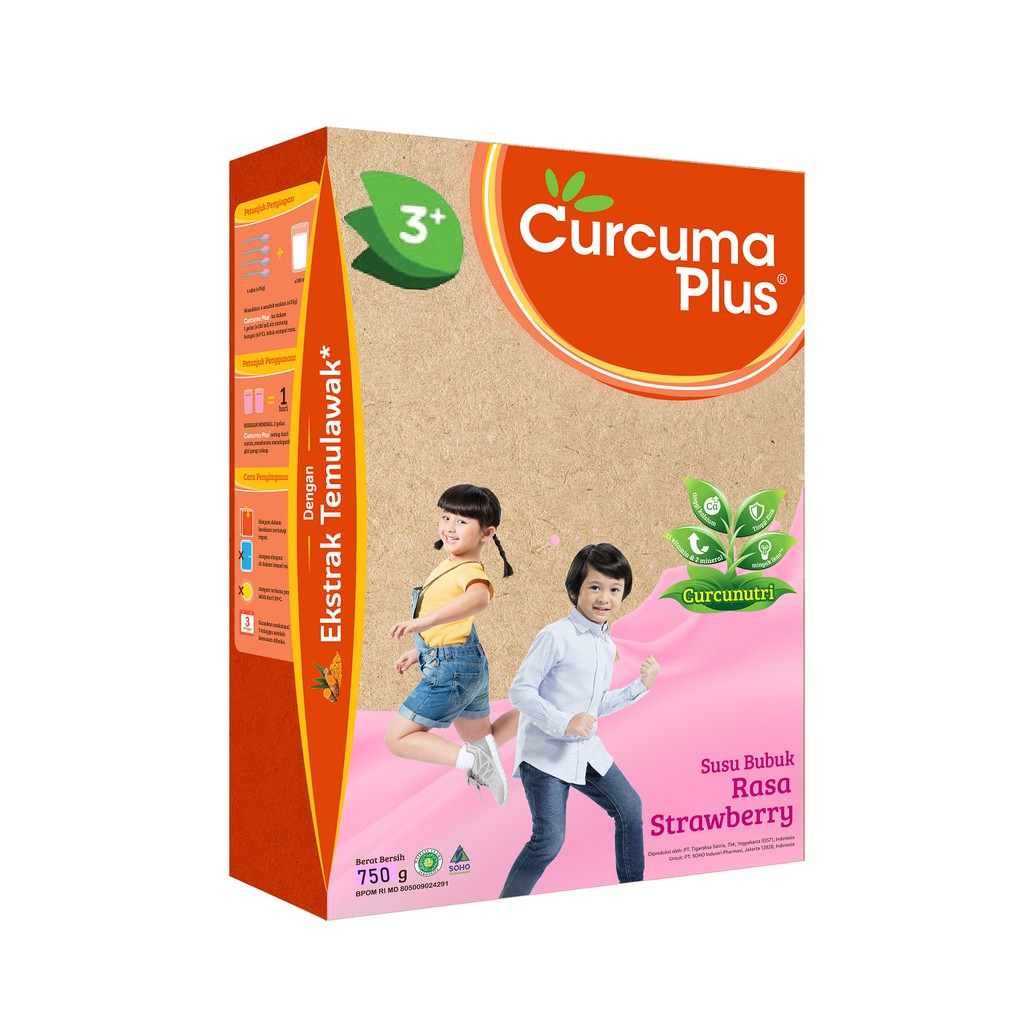 Curcuma Plus 750g Vanilla Shopee Indonesia Lactogen 2 Gold Kemasan Baru