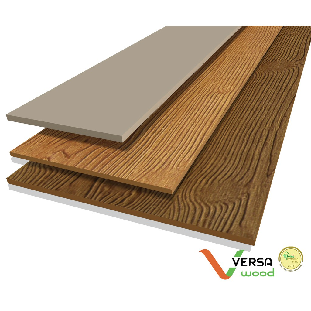 Papan Lisplank Merk Versa Wood Teak 8 Mm Shopee Indonesia