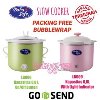 Baby Safe Babysafe Slow Cooker LB007 LB008 LB009 / Slow Cooker Babysafe