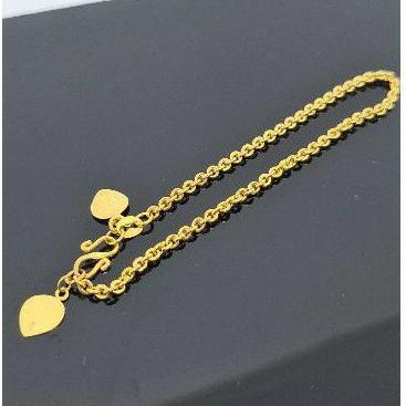 gelang rantai 3 gram emas muda