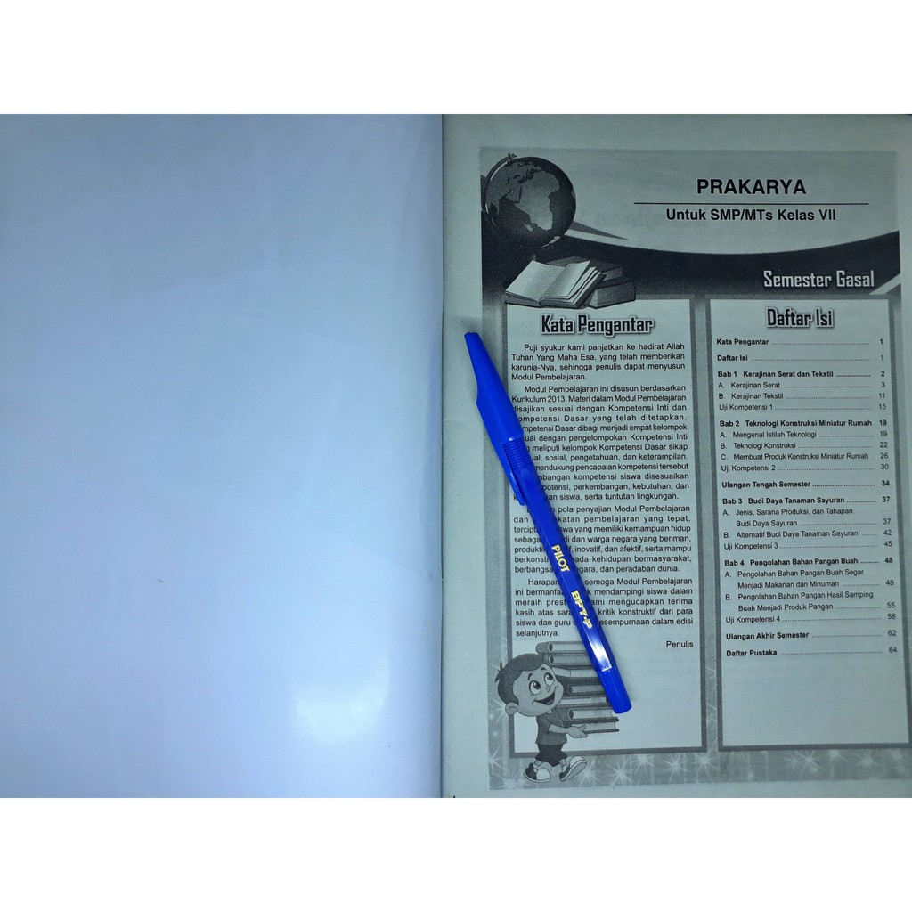 Lks Prakarya Smp Mts Kelas Vii 7 Semester 1 2020 2021 Master Media Shopee Indonesia