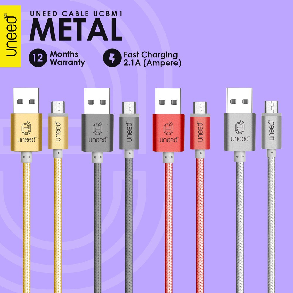 Uneed Switch Auto Disconnect Kabel Data Micro Usb With Qc 30 Power Delivery Type C To Lightning Max 2a Ucb27ci Ucb21m Shopee Indonesia