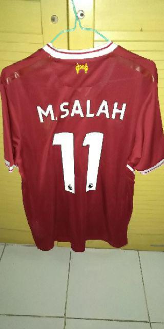 1d10f7c1b7e Kualitas terbaik Jersey Liverpool Home Baju Bola Jersey Bola 17 18 ...