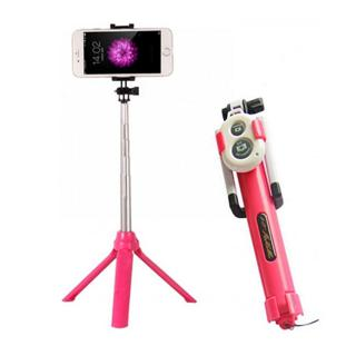 Tongsis Tripod 3 in 1 with remote bluetooth