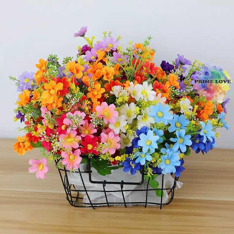Daun Bunga Aster Mini Cantik Artificial Setangkai Kembang Bunga Palsu Hias Artifisial Af13 Shopee Indonesia