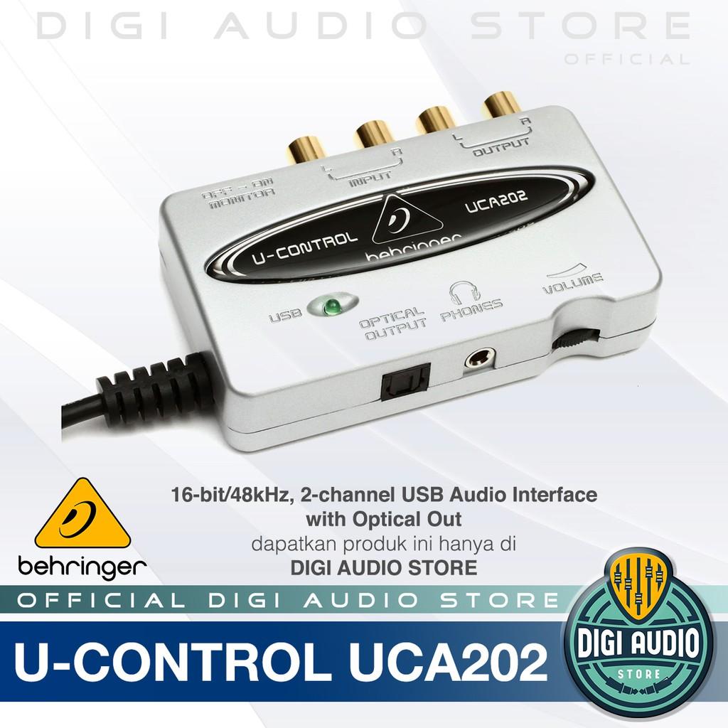 Behringer u-control uca202 usb-audio interface driver
